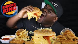 BEAST MODE DESTROYS THIS CHEESY BURGER KING | AMAZING REACTION