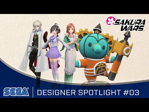 Sakura Wars - Designer Spotlight: Soejima / Ito / Sugimori