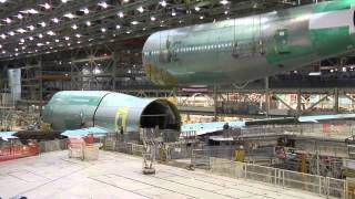 Making the first commercial 747-8 Intercontinental