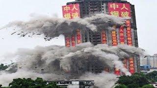 Construction Demolitions  - Building Demolition Videos