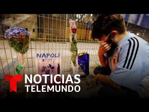 Conmoción Ante La Muerte De Diego Armando Maradona