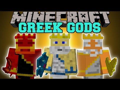 Minecraft: GODS MOD (BECOME GREEK GODS AND GAIN EPIC POWER!) Mod Showcase