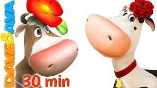 🌺 The Cow Named Lola | Nursery Rhymes and Baby Songs from Dave and Ava 🌺