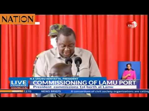 Security intervenes as man attempts to approach President Kenyatta