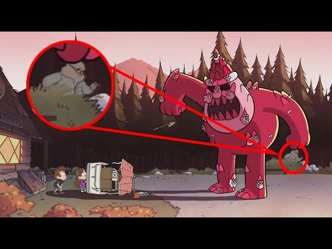 10 Easter Eggs Ocultos En Gravity Falls