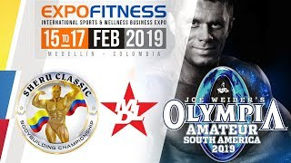 Mr OLYMPIA AMATEUR - DIA 1  PARTE 1 - EXPO FITNESS