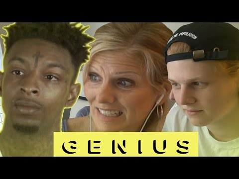 Download Mom reacts to 21 Savage