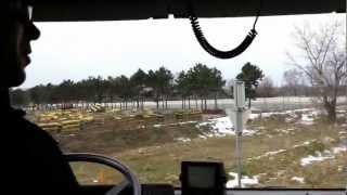 preview picture of video 'T1 Sturmschaden - 15.03.2013 - Einsatzfahrt - Einsatz'