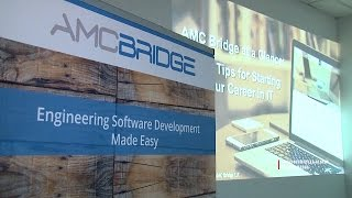 AMC Bridge, an international software development company, has opened its development center in Chernivtsi