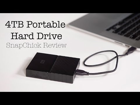 WD Portable External Hard Drive – SnapChick Review