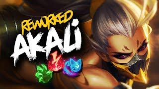 REWORKED AKALI MONTAGE | League of Legends