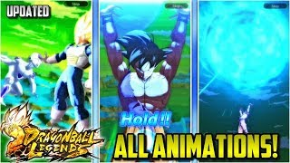 ALL SUMMON ANIMATIONS IN DRAGON BALL LEGENDS *UPDATED*
