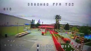 Flying FPV in Closed Theme park