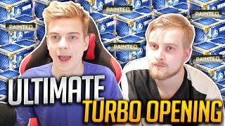 SO MANY PAINTED ITEMS!... | THE ULTIMATE ROCKET LEAGUE TURBO CRATE OPENING w/ JRDZ