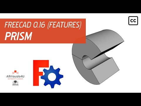 FreeCAD Tutorial - Feature - Revolve (Part Design Workbench
