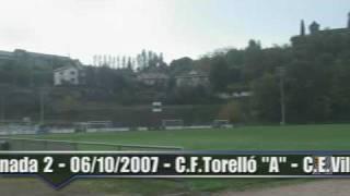 preview picture of video 'Jornada 2-Un Equip de PrimeraC.F.Torelló-CE Vila Olímpica'