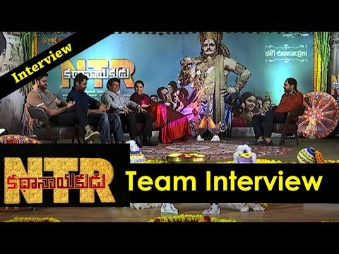 ntr-biopic-movie-team-interview