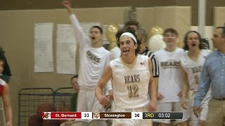 Highlights: Stonington 51, St. Bernard 50