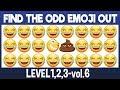 vol6|Spot The Difference Emoji|Emoji Puzzle Quiz