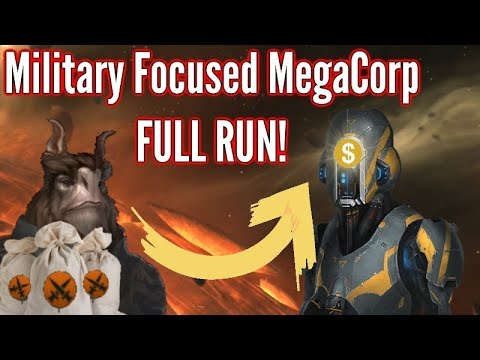 Stellaris | Military-Industrial Complex Megacorporation - FULL RUN!  | MAX AI & Crisis strength!