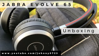 Jabra Evolve 65 professional wireless headset - Unboxing, Setup, review! Bluetooth and NFC, Mac & PC
