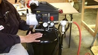 Air Compressor, Line Setup and How to Use Air Tools for Beginners