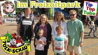 Die SPIELZEUGTESTER und TIPTAPTUBE im Freizeitpark Tolkschau | Vlog