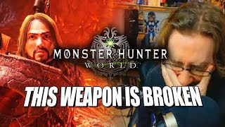 THIS WEAPON IS BROKEN : Max Plays - MONSTER HUNTER WORLD (Ep 6)