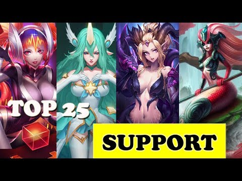 TOP 25 SUPPORT PLAYS - LOL EPICS SUPPORT MONTAGE 2017