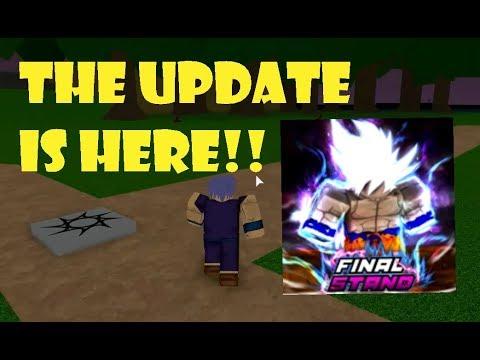 Roblox Dragon ball z final stand- I got Ultra Instinct! - Technical