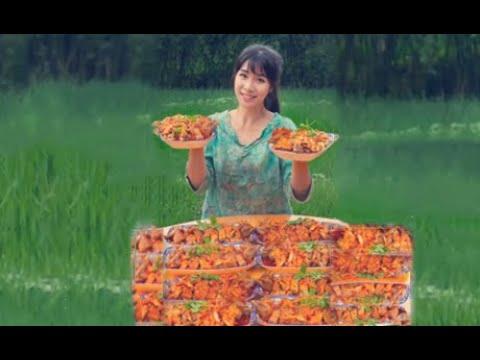 #大胃王#美食全村第一吃貨消滅六叔30斤椒麻雞