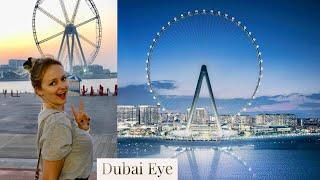 DUBAI EYE- największy diabelski młyn świata + nieruchomości na sztucznej wyspie Blue Waters