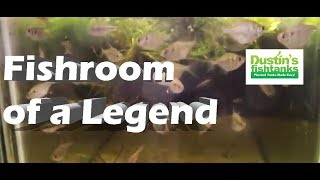 Fish Room of a Legend Mike Barber
