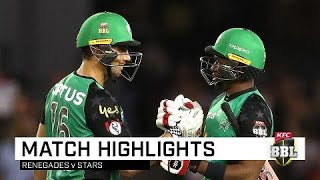 Incredible Stoinis smashes Renegades