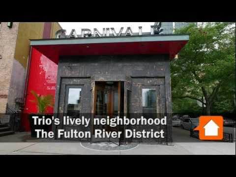 Ten duplex penthouses for rent at Trio
