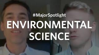 #MajorSpotlight on Environmental Science