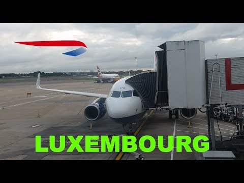 Business class (Club) flight Review from Heathrow to Luxembourg with British Airways