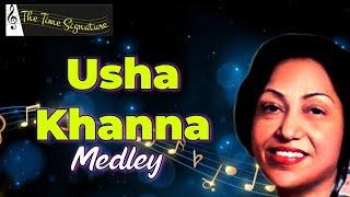 Usha Khanna Medley .by Sarvesh Mishra, Sanjay & Priyanka