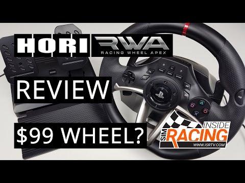 Видео № 0 из игры Руль Hori Racing Wheel APEX (PS4-052E)