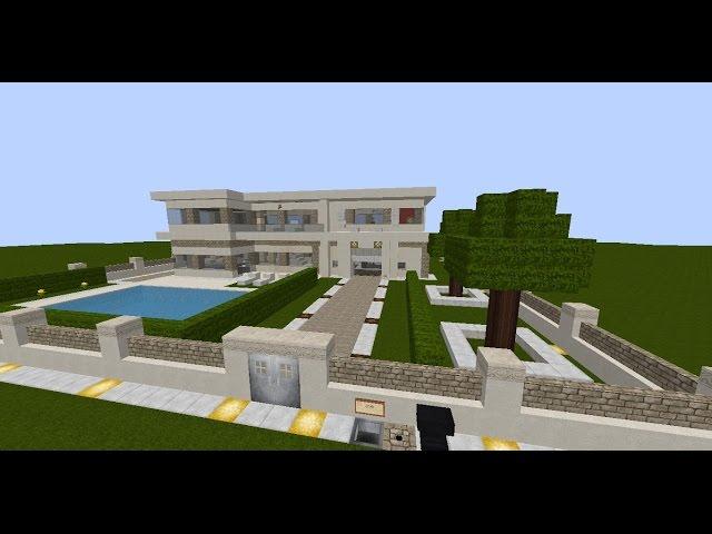 Moderne Redstone Villa Minecraft Moderne Redstone Villa Minecraft - Minecraft moderne hauser