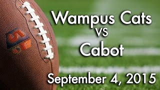 Wampus Cats at Cabot