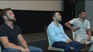 Участники главных боев Fight Nights Global 73 встретились с фанатами MMA