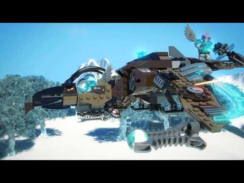Vidéo LEGO Chima 70228 : Le vautour volant