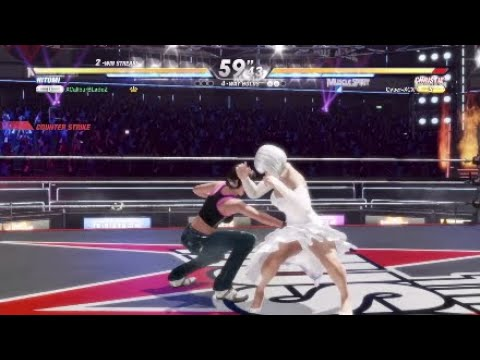 Dead or Alive 6 High Level Hitomi gameplay