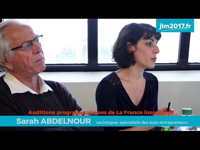 Audition programmatique JLM2017 - Uberisation et salaire à vie - Sarah Abdelnour et Bernard Friot