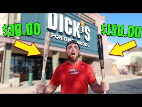 $30 BAT vs. $150 BAT! IRL Baseball Challenge