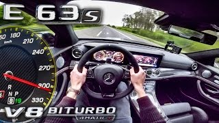 Mercedes AMG E63 S 4Matic+ 612HP ACCELERATION & TOP SPEED AUTOBAHN POV by AutoTopNL