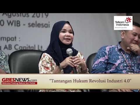 VIDEO: Tantangan Hukum Revolusi Industri 4.0 (Bagian 2)