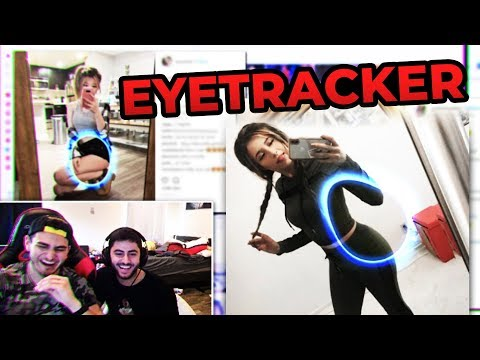 EYETRACKER EXPOSES ME Ft. Yassuo & Pokimane