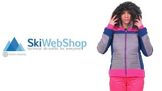 Kilpi, Leda stretch ski-jas, dames, wit